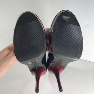 Steve Madden Shoes - Steve Madden P-reta cheetah black platform heels